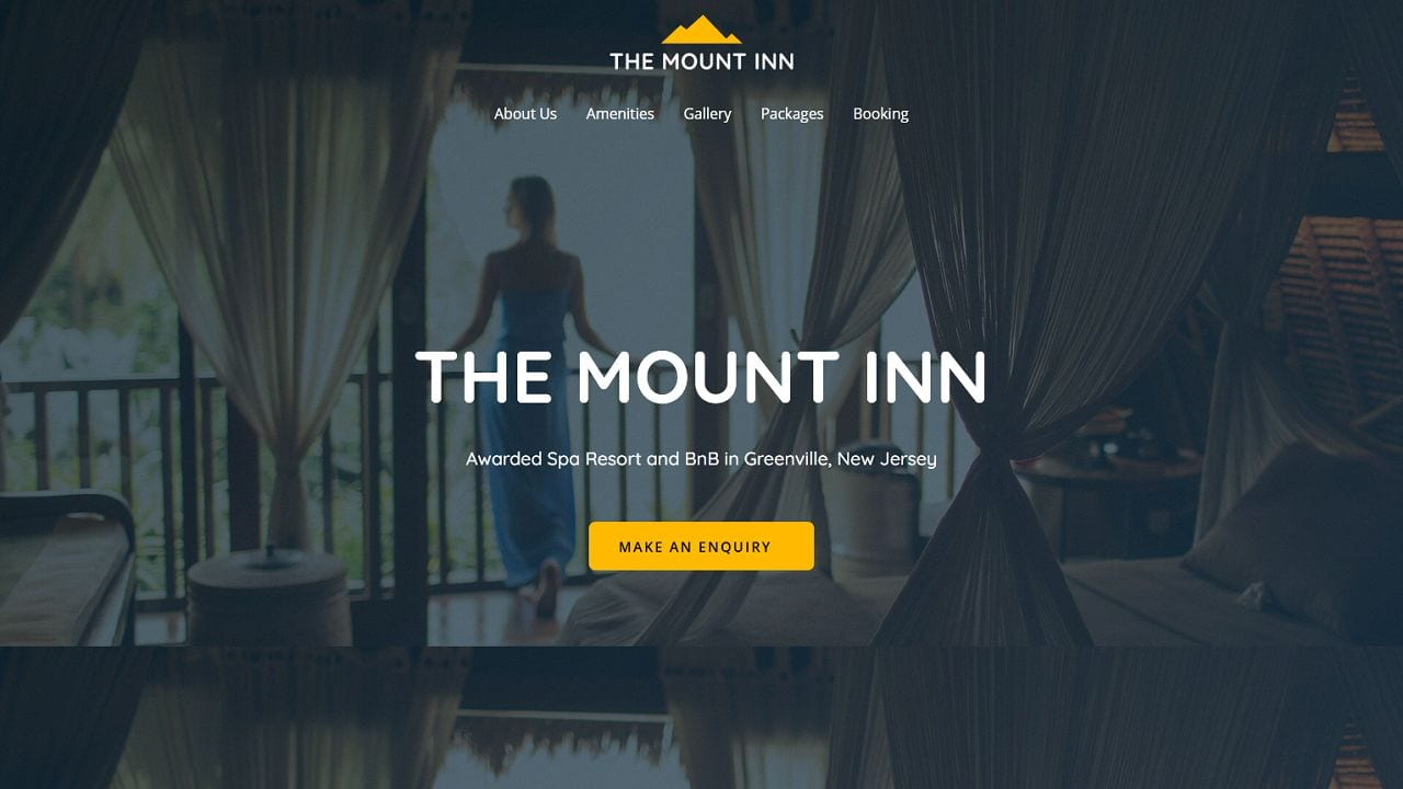 Hotel BnB - Multipurpose - Home Page 1280 x 720