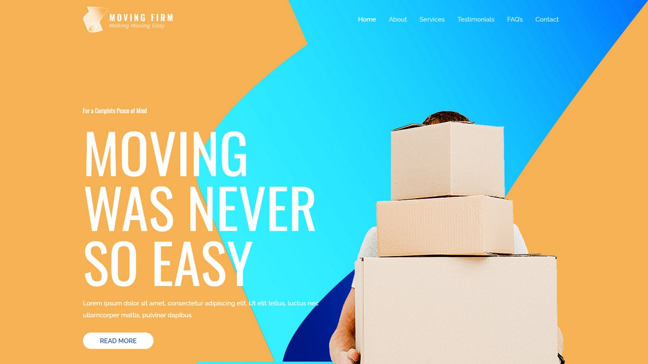 Moving Services - Home Page 1280 x 720