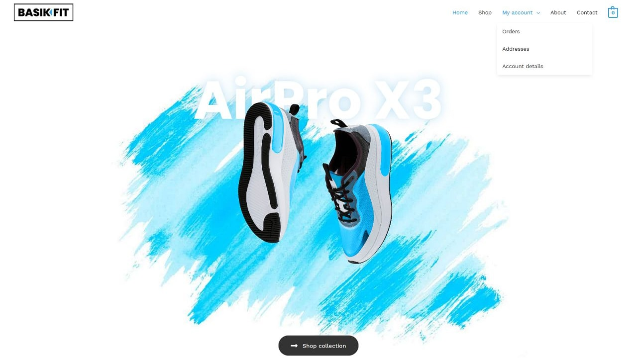 eCom Shoe Shop - Multipurpose - Home Page 1280 x 720