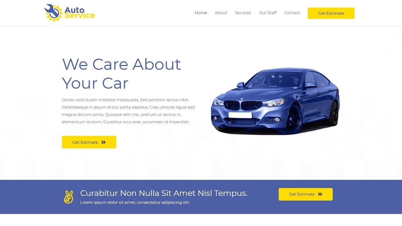 Car Repair - Multipurpose - Home Page 1280 x 720