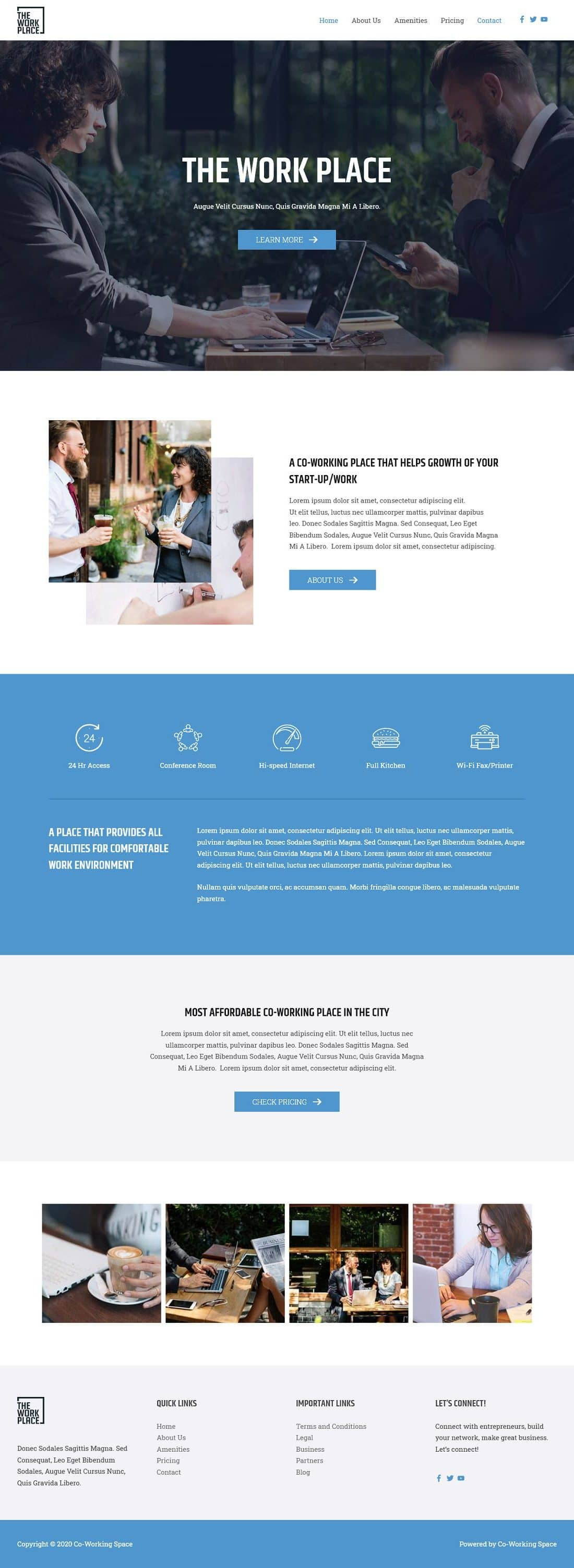 Co-Working Spaces S Home Page 1280 x 3007
