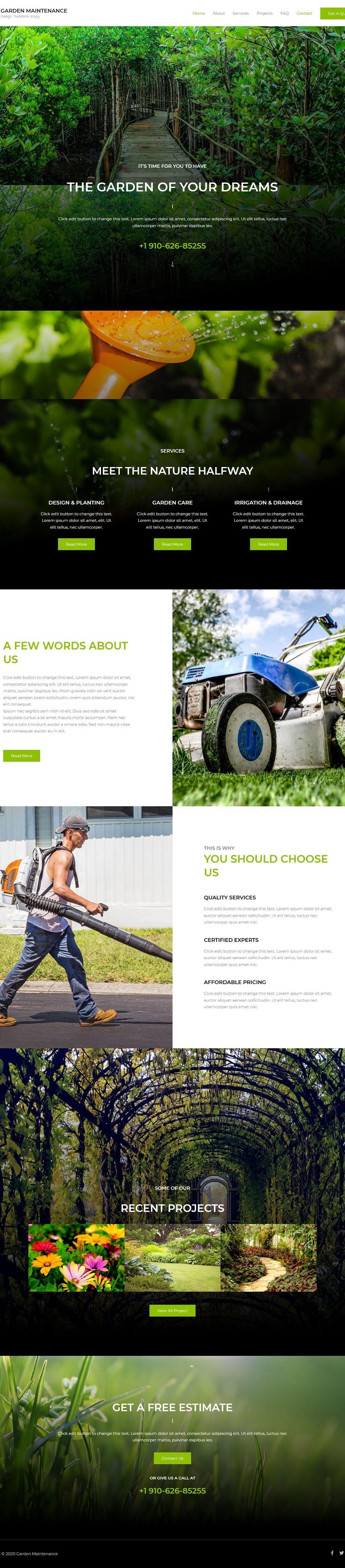 Garden Maintenance - Home Page 1280 x 4996