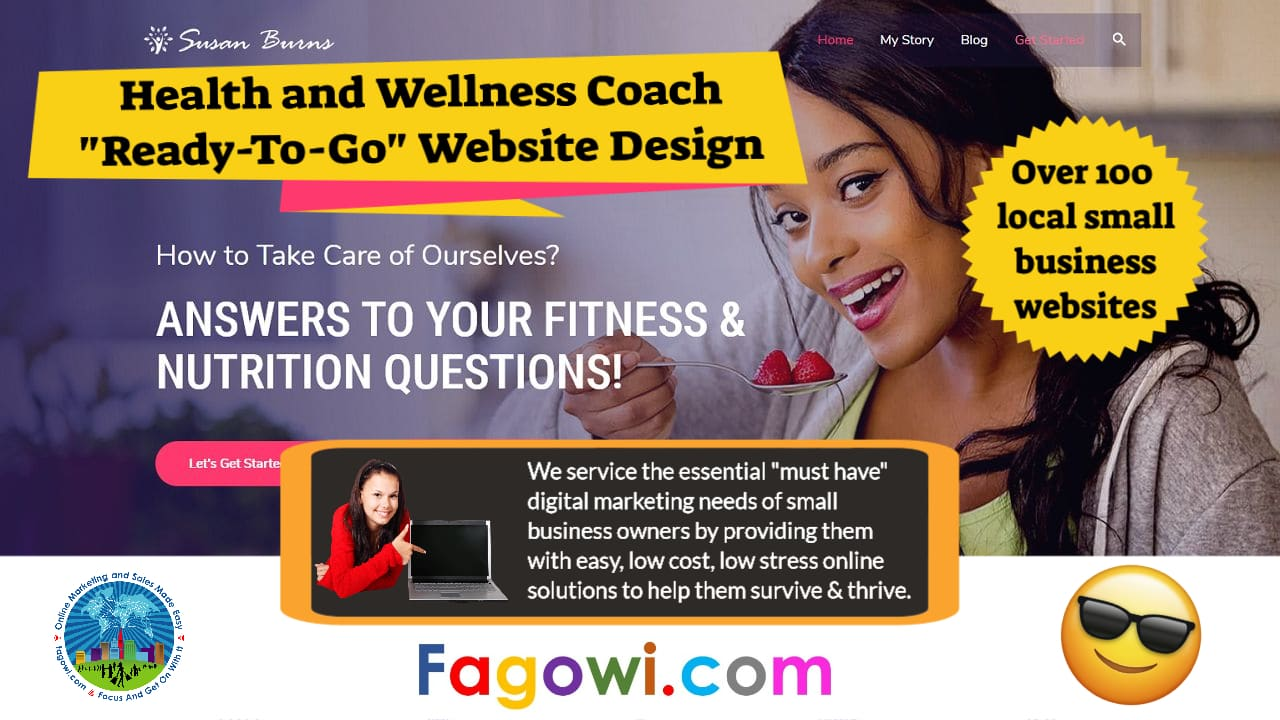 Health and Wellness Coach Astra Website Video Thumbnail 1280 x 720