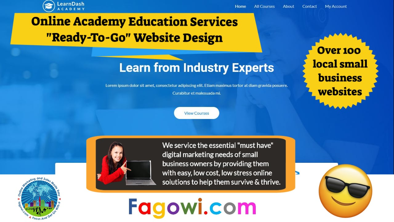 Learndash Online Education Services Astra Website Video Thumbnail 1280 x 720