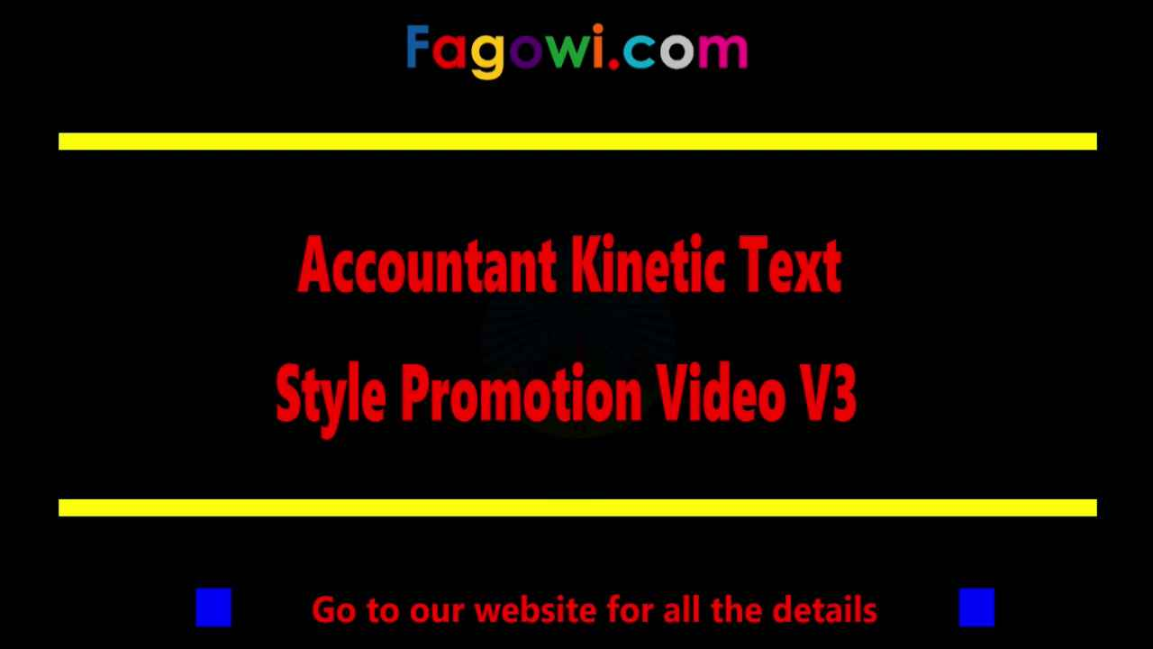 Accountant V3 Kinetic Thumbnail Example By Fagowi Spokesperson Video 1280 x 720 Compressed