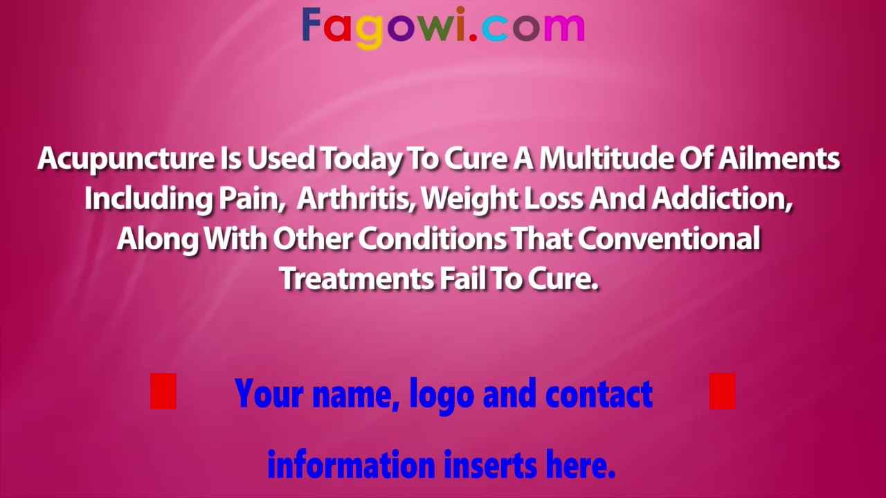 Accupuncture V1 Thumbnail Example By Fagowi Spokesperson Video 1280 x 720 Compressed